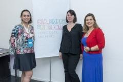 Bartira Pontes, Marina Roitman e Nara Duarte
